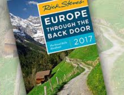 RICK STEVES READER BOOK- PROMO CODE RICK
